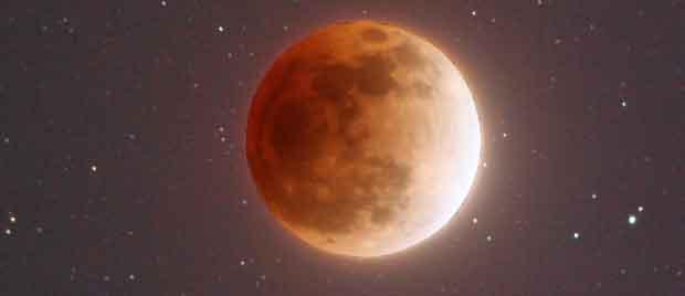 éclipse de la Super Lune