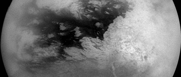 Titan le 26 octobre 2004 par Cassini. Crédit NASA