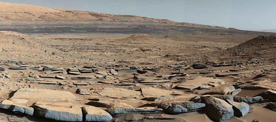 Des lacs sur Mars