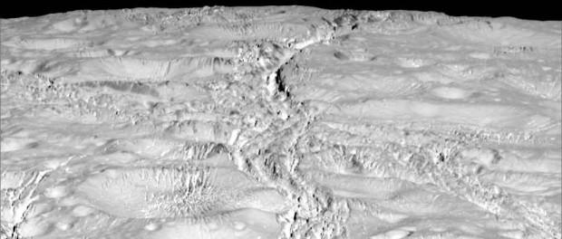 L'image a été prise à une distance de 6000 km. Crédit NASA