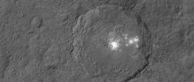 Le cratère Occator de Cérès