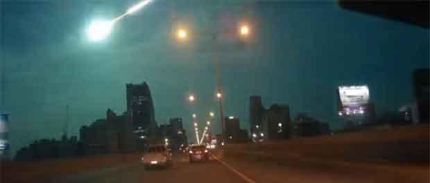 Une météorite à Bangkok