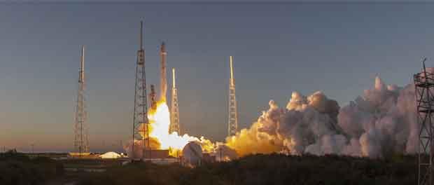 Reprise des lancements pour SpaceX