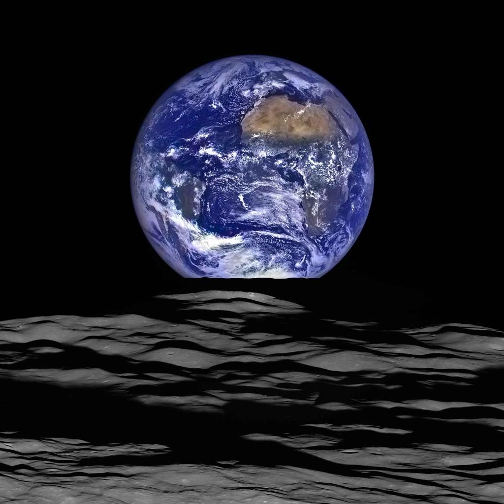 Le 12 octobre 2015 LRO réalisait cette image. Crédits : NASA/GSFC/Arizona State University