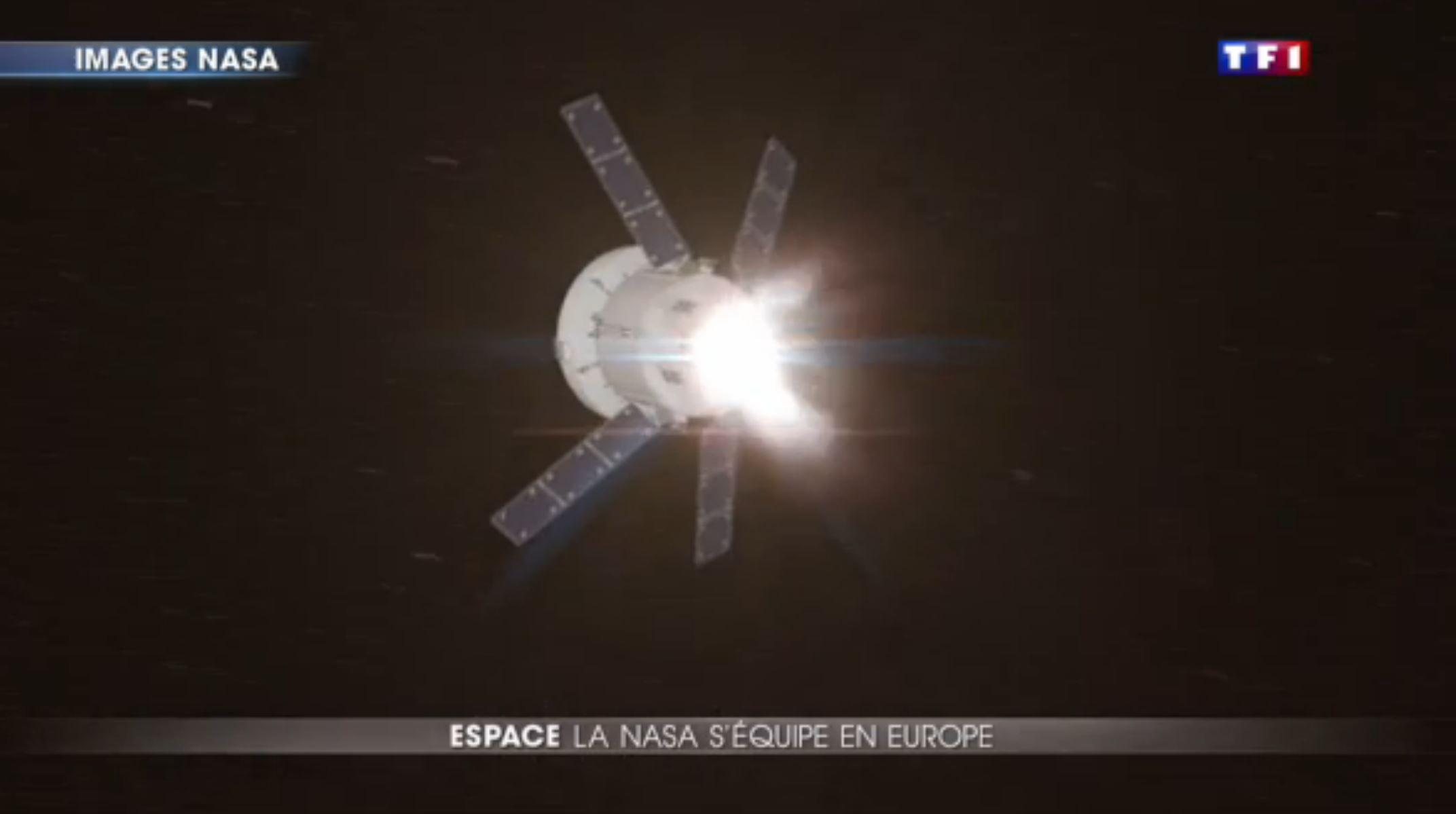 module de la capsule Orion