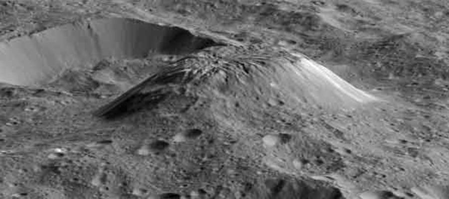 La montagne Ahuna