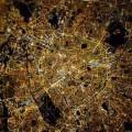 Paris depuis l'espace