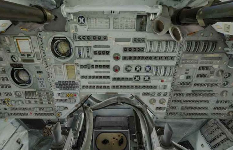 le module de commande d'Apollo 11