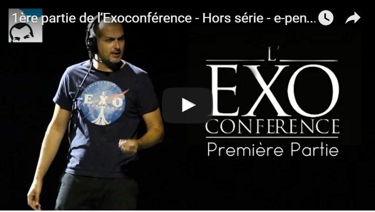 Première partie de l'Exoconférence