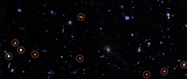 ALMA et Hubble