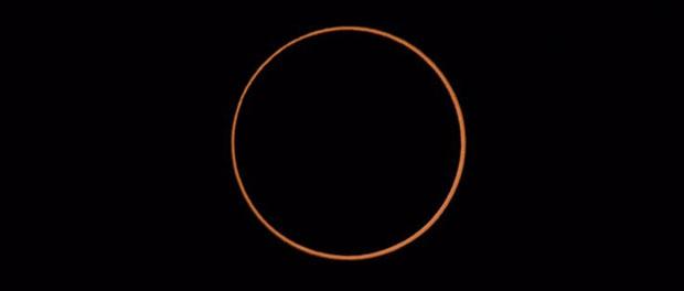 éclipse annulaire solaire