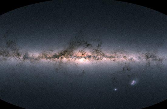 La carte de la Voie Lactée