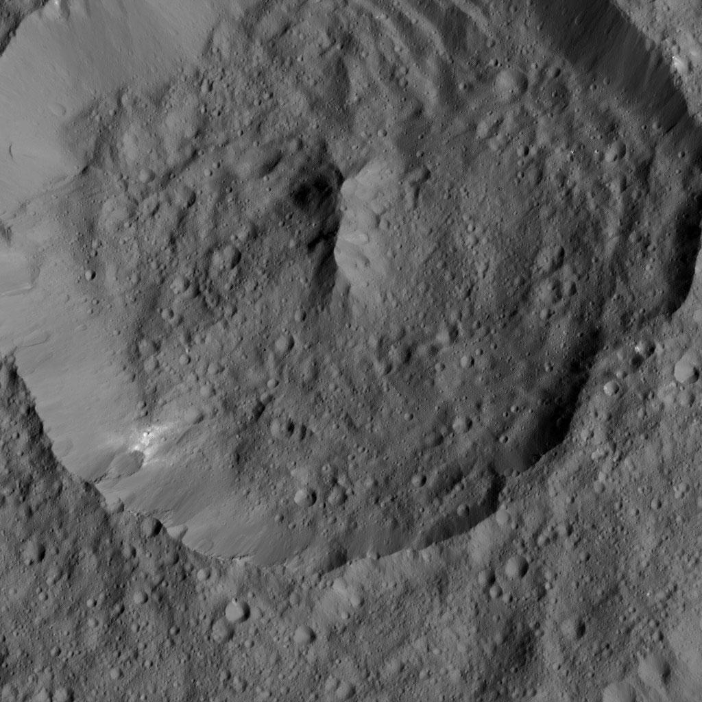 Achita Crater