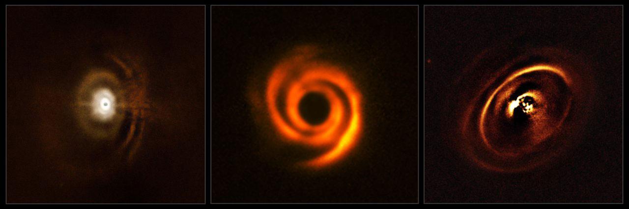 Disques protoplanétaires observés avec SPHERE