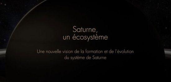 Saturne un écosysteme