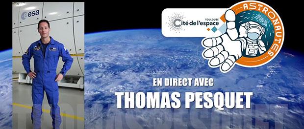 Suivre Thomas Pesquet