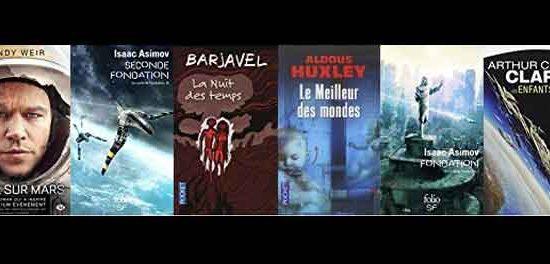 Romans de science-fiction