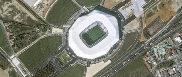 Le stade des Lumières