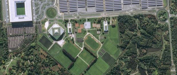 Le stade de Bordeaux