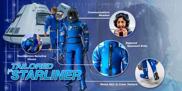 combinaison des astronautes