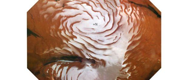Moosaïque de la calotte glaciaire