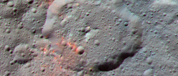 Le cratère Ernutet