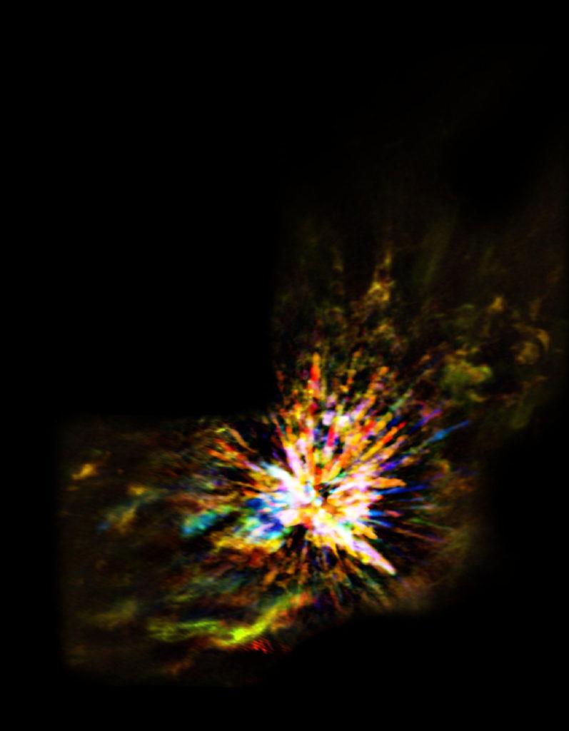Une explosion stellaire au sein d'Orion