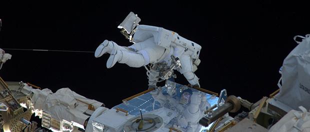 Les scaphandres spatiaux