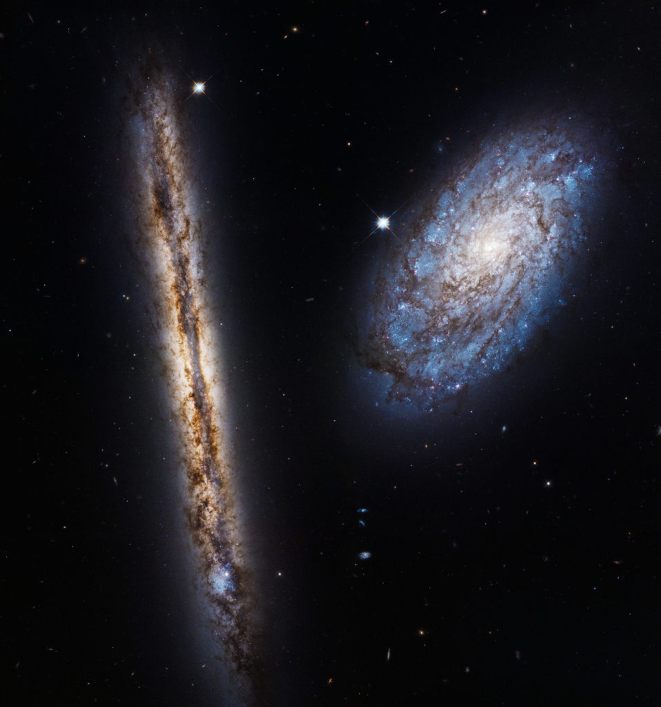 NGC 4302 et NGC 4298