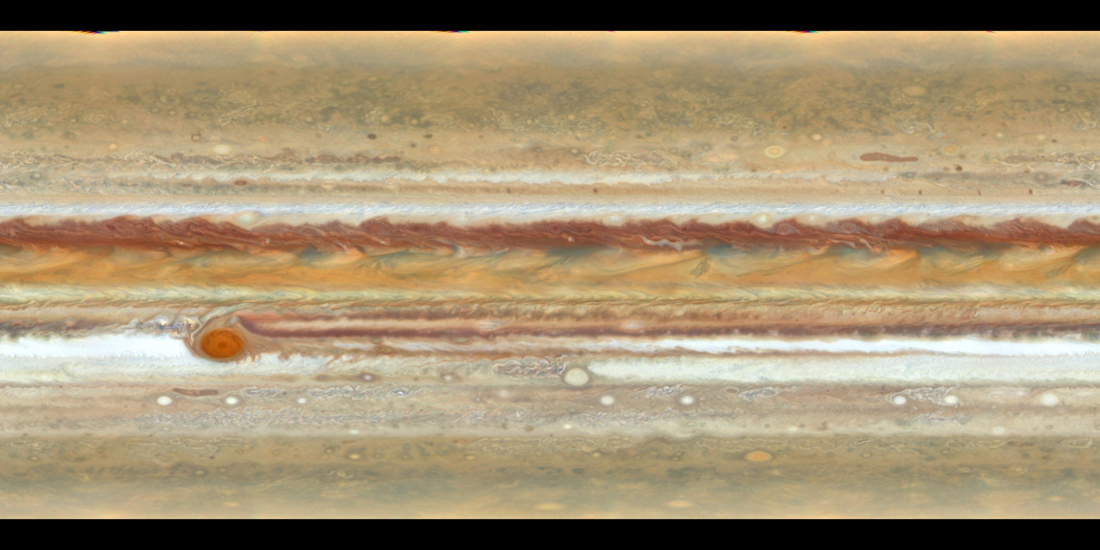 Carte de Jupiter