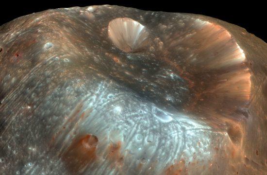 Un échantillon de Phobos