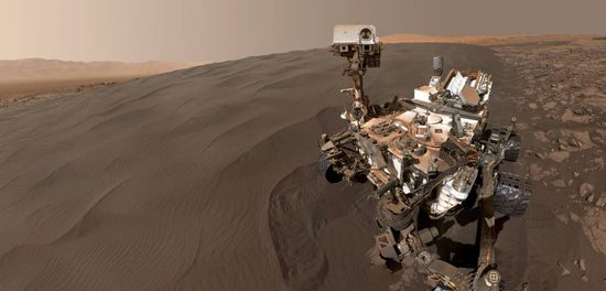 Curiosity à la conquête de Mars