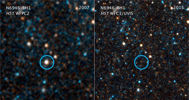 étoile massive N6946-BH1