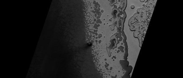 Le pôle sud de Mars