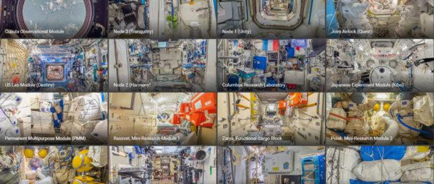 L'ISS sur Street View