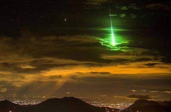 Un météore dans le sud de la France