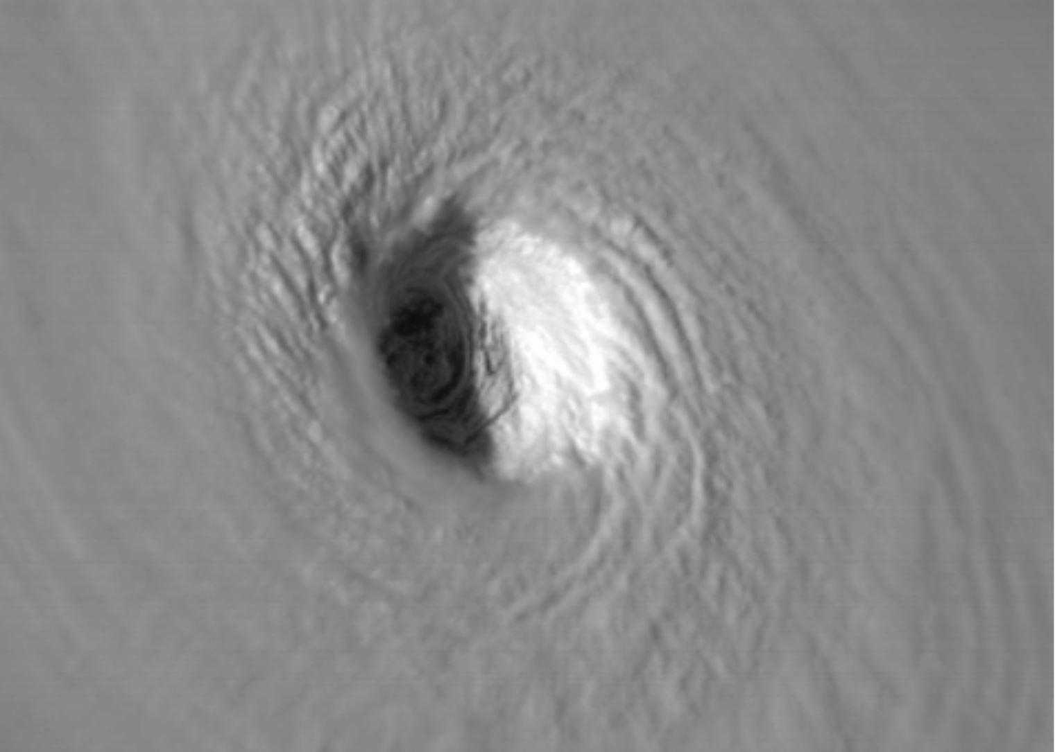 Le cyclone Irma