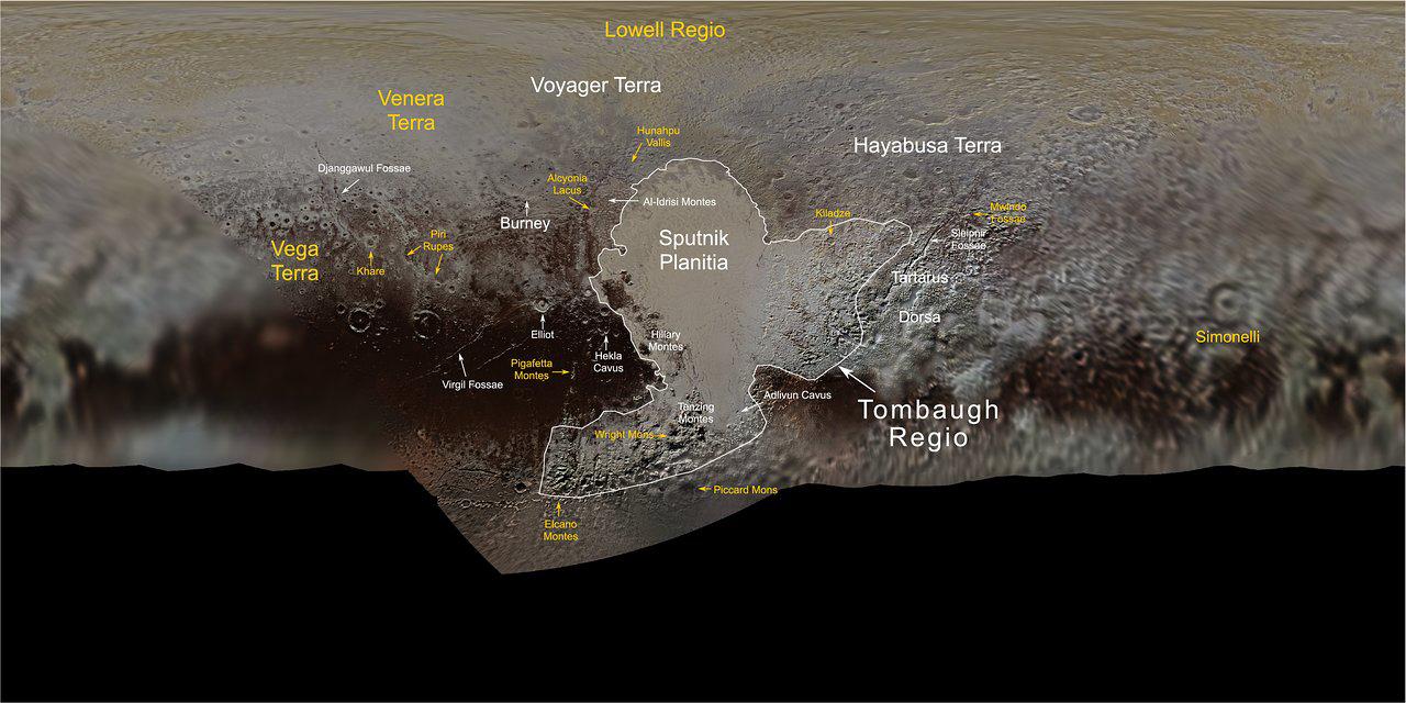 carte de Pluton