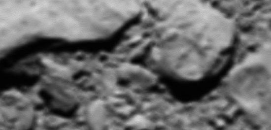 dernière photo de Rosetta