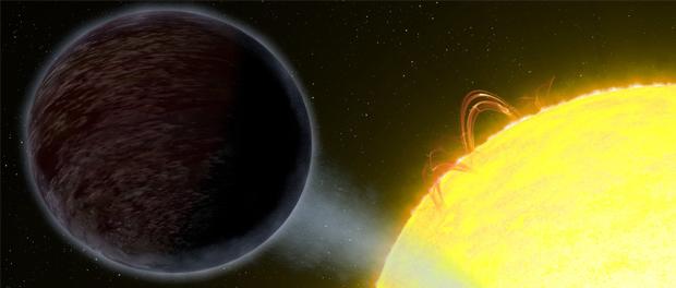 Jupiter noire