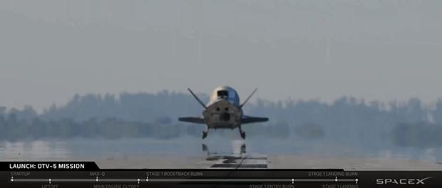 La mini-navette X-37B