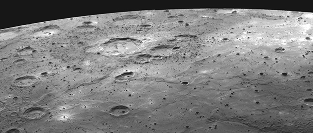 pôle nord de Mercure