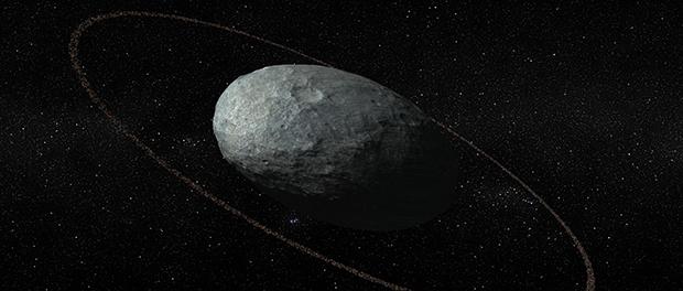 La planète naine Haumea