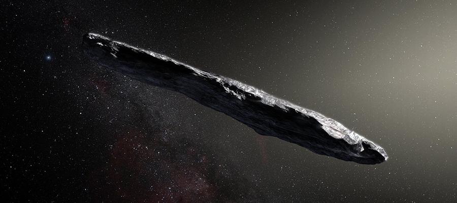 astéroïde interstellaire Oumuamua