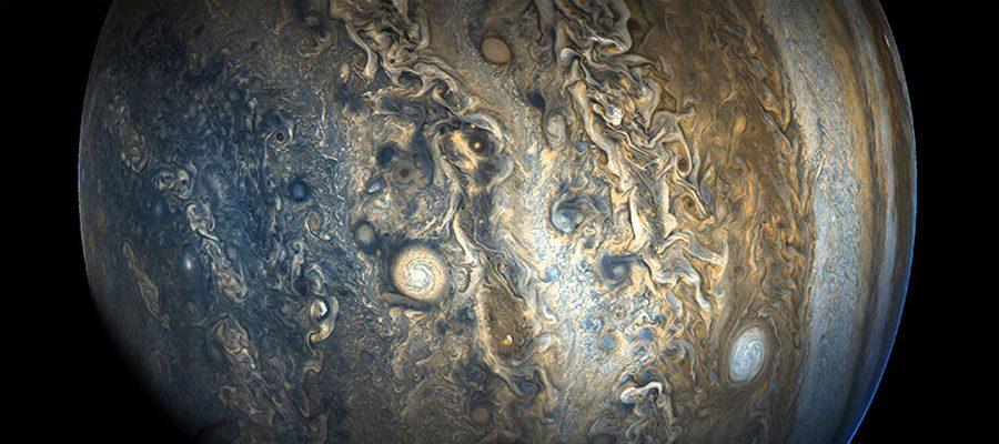 Le climat sur Jupiter