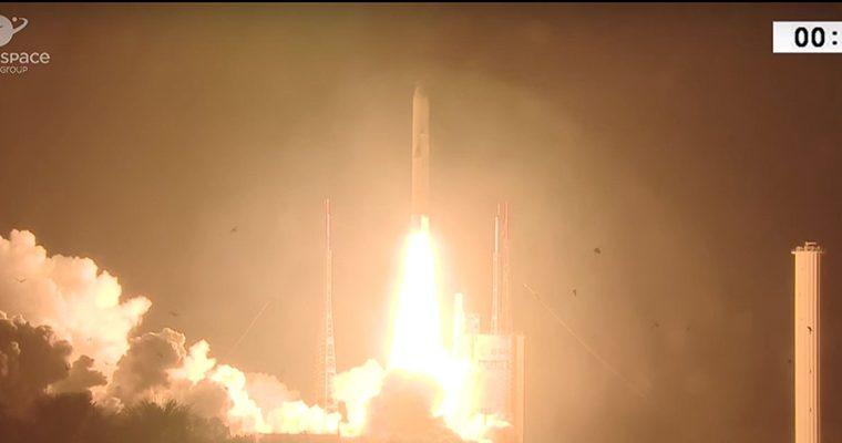 Calendrier Lancement Ariane 2019.Grosse Frayeur Lors Du Dernier Lancement D Arianespace