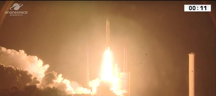 lancement d'Arianespace
