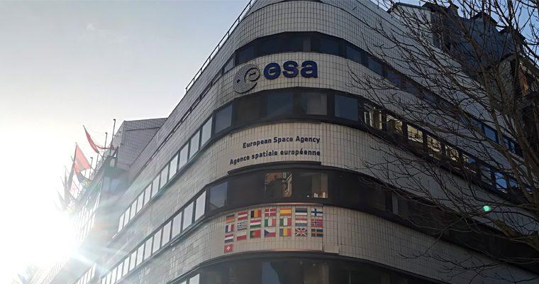 Le siège de l'ESA à Paris