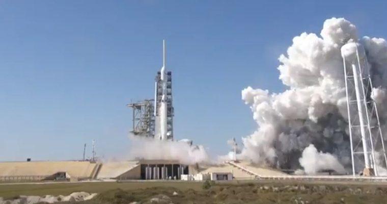 lancement du Falcon Heavy