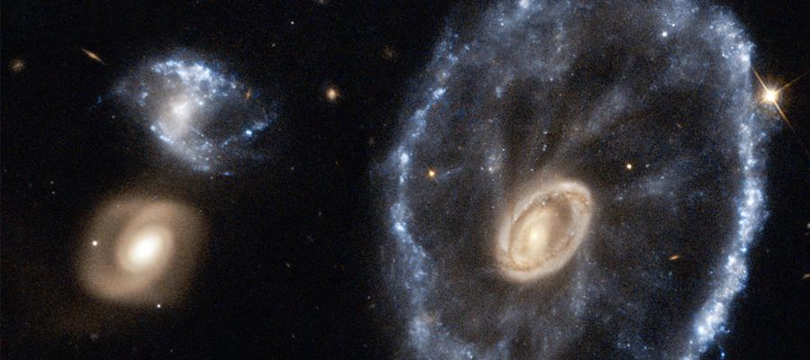 galaxie de la Roue de chariot